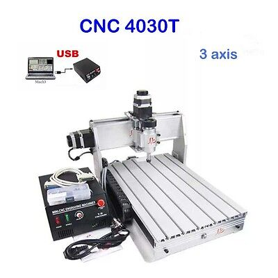 3 Axis Cnc Router Engraver Engraving Machine 3040T Cutter Drilling Carving Great