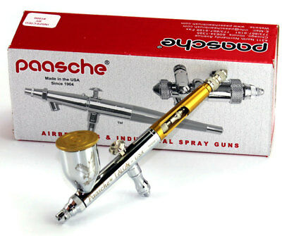 New Paasche Gravity Feed Airbrush TG#2L TG2L Talon Dual Action