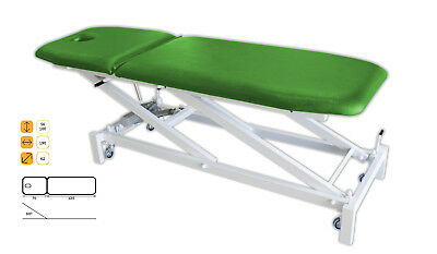 C-701 Therapy Table Electric Adjustable 56 - 100cm 2-teilig with Gesichtsloch