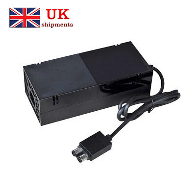 For XBOX ONE Console Power Supply AC Adapter Mains Charger Brick Charging Cable