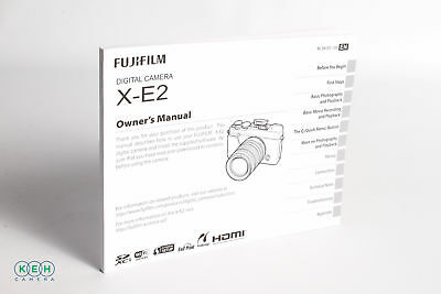 Fujifilm X-E2 Instruction Manual