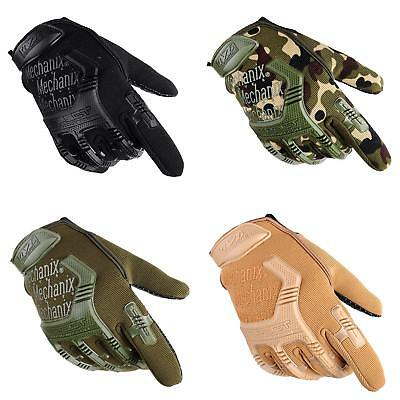 Army Combat Tactical Men Full Finger Anti-slip Military SWAT Soldier Gloves Out