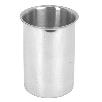 1 PC Restaurant Quality Stainless Steel 4-1/4 QT Bain Marie Pot 4.25QT SLBM004