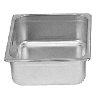 "1 Piece Stainless Steel Anti-Jam Steam Table Pan 1/6 x 4"" Commercial STPA8164"