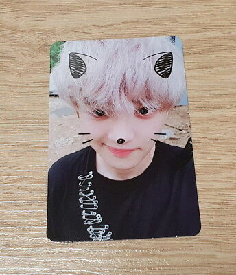 EXO K M 5th Album Don't Mess Up My Tempo Moderato Chanyeol Photo Card Official