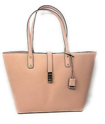 1e88abbfb6d9ea NWT Michael Kors Karson Large Leather Tote Pastel Pink + 25%off your next  order