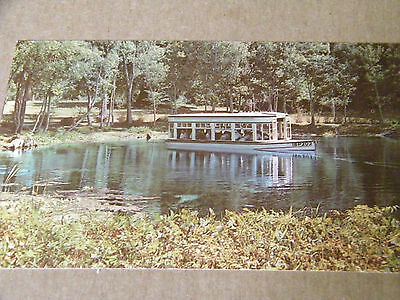 Vintage Postcard Silver Springs Nature's Underwater Fairyland Florida