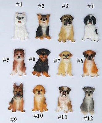 "NEW PUG Magnet Deluxe 3-1/2"" HIGH DOG BREED Sale #3"