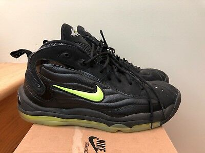OG 1997 NIKE Air Total Max Uptempo 830015 031 Black Neon Yellow Sz ... cdae0fda9