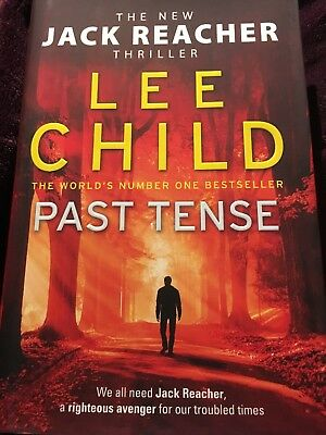 NEW![Pre-Order] Past Tense:(Jack Reacher 23) Hardback by Lee Child