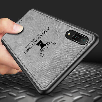 Shockproof Hybrid Soft TPU Leather Case Cover For Huawei Mate 20 P20 Pro/Lite