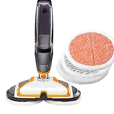 1611297 - Bissell Soft Mop Pads, Pk, For Spinwave Hard Floor Spin Mop