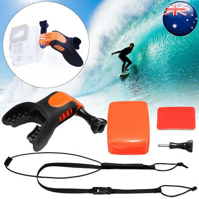 Surfing Skating Shoot Surf Dummy Bite Mouth Mount for GoPro Hero 4/3 Camera
