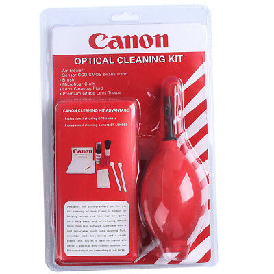 Set of Pro 7 in 1 Lens Cleaning Cleaner kit for Canon Nikon Sony DSLR Cameras
