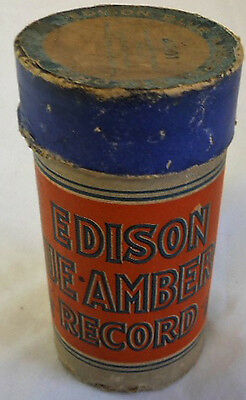 Antique 1913 EDISON CYLINDER Wax Record 1712 DARKY SCHOOL DAYS ~ Vaudeville