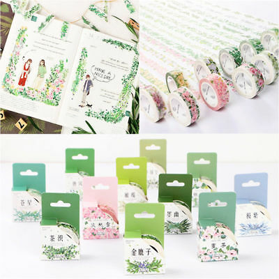 DIY Scrapbook Diary Decoration Sticky Tape Adhesive Sticker Washi Tape Masking