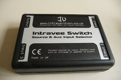 Car intravee switch SOURCE & AUX INPUT SELECTOR INTRAVENTION