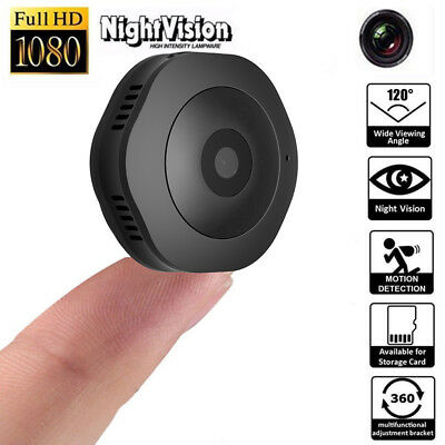 Mini IP Spy Camera Wireless Security Camcorder HD 1080P DV DVR Night Vision Cam