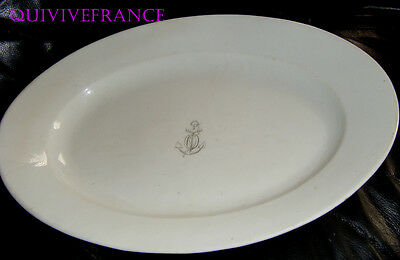 Plat Ovale Compagnie Maritime - Paquebot