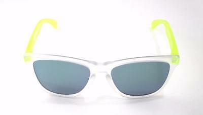 042efdd59c New in Box Oakley Sunglasses Frogskins Matte Clear Jade Asian Fit  OO9245-5354
