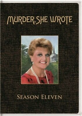 MURDER SHE WROTE COMPLETE ELEVENTH SEASON 11 Sealed New 5 DVD Set