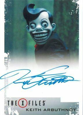 X-Files Seasons 10 & 11: Autograph / Auto Keith Arbuthnot as Mr. Chuckleteeth
