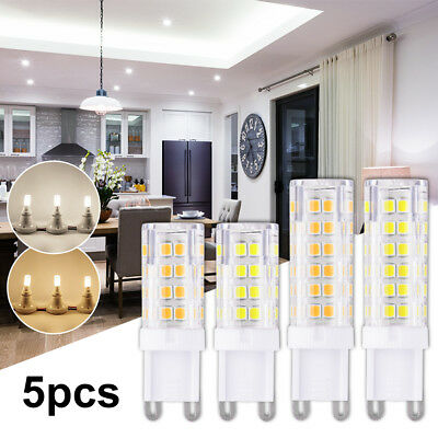 G9 LED Light Bi-Pin Base Bulb 8W 10W Equivalent Replacement Daylight 220-240V