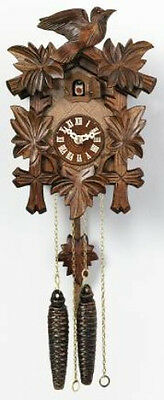 Quality hand-carved, traditional,  *all mechanical*   German cuckoo clock 11-09