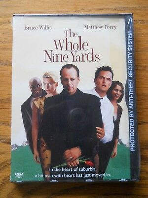 The Whole Nine Yards (DVD, 2000) Bruce Willis Matthew Perry BRAND NEW