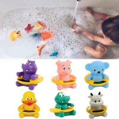 Baby Bath Tub Thermometer Floating Cartoon Animal Water Temperature Tester Toys