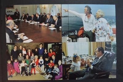 Lot of Vintage Pictures President George HW Bush 926091