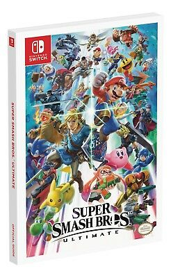 Super Smash Bros Ultimate Official Guide by Prima Games Pokemon Paperback NEW