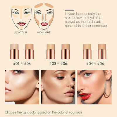 Girl Professional 6 Colors Concealer Makeup Comestic Conceal HD. High Definition