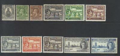 Turks & Caicos Island Small Kgvi/kgv Mh Selection