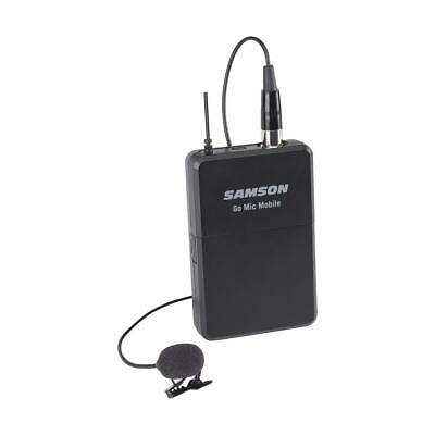 Samson Go Mic Mobile PXD2 Beltpack Transmitter with LM8 Lavalier Microphone