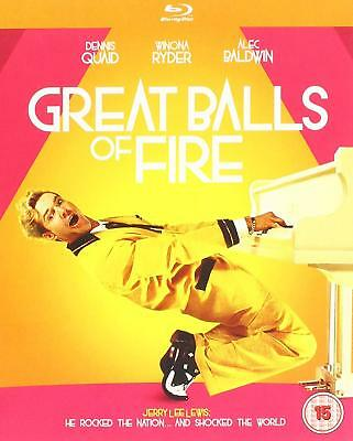 Great Balls of Fire! - Blu ray NEW & SEALED - Dennis Quaid