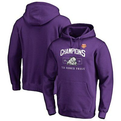 TCU Horned Frogs Fanatics Branded 2018 Cheez-It Bowl Champions Blitz Pullover