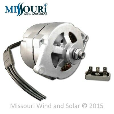 Permanent Magnet Alternator 12 Volt AC for Wind Turbine Generator PMA PMG