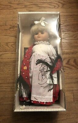 Lissi Doll Vintage West Germany GRETCHEN antique Toy 1990 Box Certificate #15703