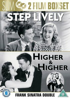 Step Livey & Higher And Higher 2 X Dvd Frank Sinatra Musical Film Movie