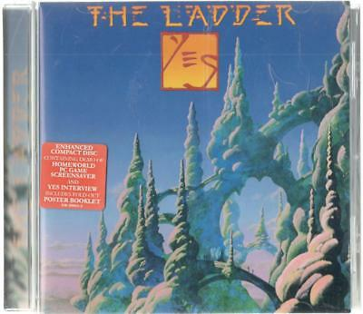 Yes, The Ladder; 11 track CD with Fold-Out Poster Booklet