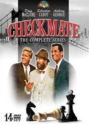 CHECKMATE THE COMPLETE SERIES New Sealed 14 DVD Set Seasons 1 + 2