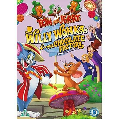 Tom And Jerry: Willy Wonka & The Chocolate Factory [DVD] [2017] DVD