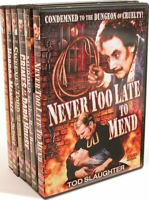 Tod Slaughter Vintage Terror Collection (6 DVD Set, 2004) See Description