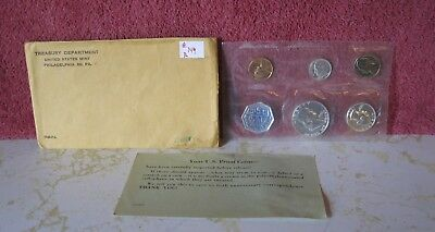 1960 Silver Proof Set With Coa