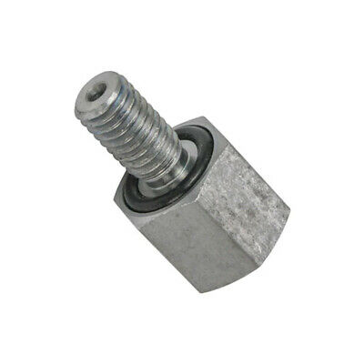 Fuel Pressure Gauge Sensor Thread Adapter for GM 6.5L Turbo Detroit Diesel