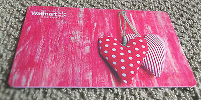 Walmart Gift Card Valentine's Day Hearts Collectible $0 value - FD42556 - Canada