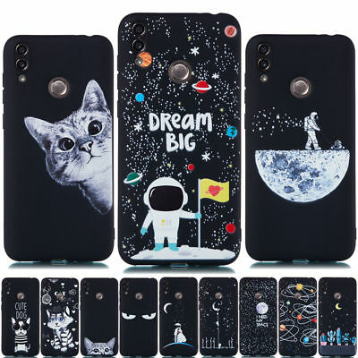 For Huawei Honor 8 9 10 Lite 7A 7C 7S 8X Painted Matte Case Soft Silicone Cover