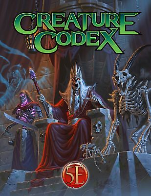 Dungeons & Dragons D&D 5th Ed Creature Codex by Kobold Press PZOKOBCC5E