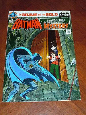 BRAVE AND BOLD #93 (1970) FINE+ (6.5) cond.  BATMAN-HOUSE OF MYSTERY Neal Adams